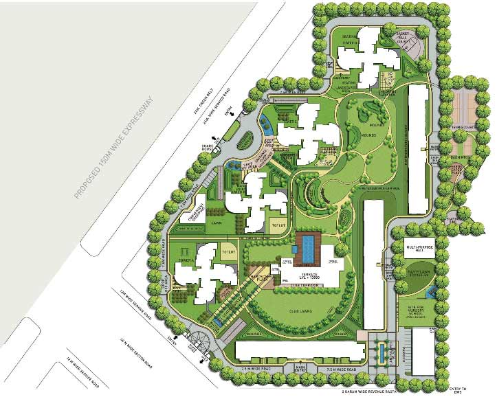 About Project Features Site Plan